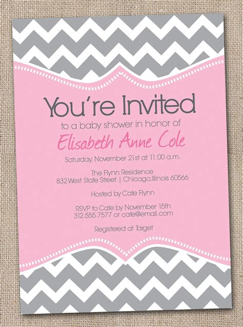 Baby Invitations by Baby Shower Invitation Free Baby Shower Invitation