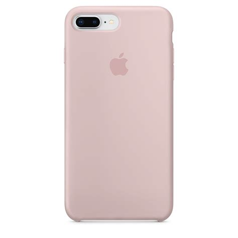 iphone     silicone case pink sand apple