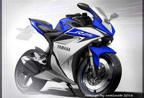 Yamaha R25 2017 yamaha r25 facelift 2017 makin mirip tang r3 autos id