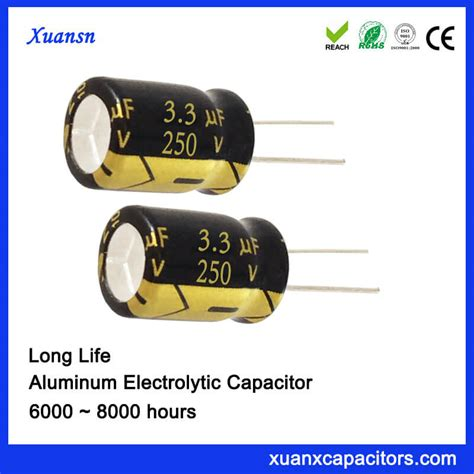 250v 3 3uf capacitor radial car capacitor