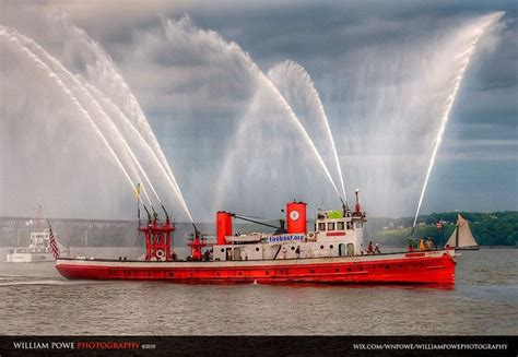 fireboat on fire fdny fireboat john j harvey where s the fire fire