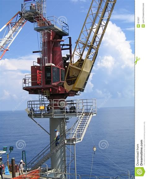 Offshore Pedestal Crane offshore crane royalty free stock photography image 812927