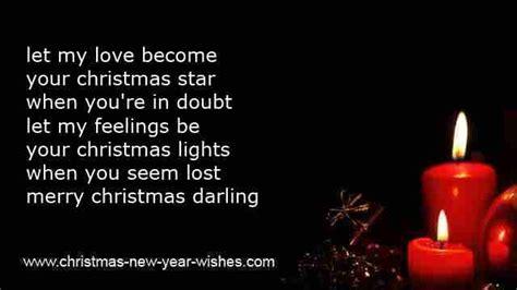 christmas boyfriend poems  unique messages girlfriend