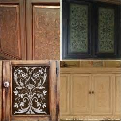 Stencils For Cabinet Doors 20 Diy Cabinet Door Makeovers With Furniture Stencils Diy Cabinet Doors Diy Cabinets And