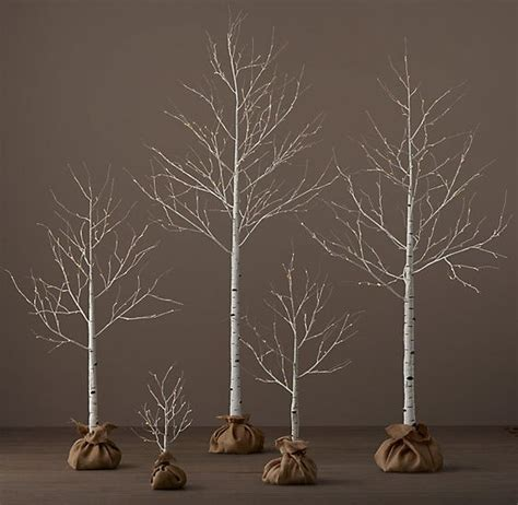 restoration hardware christmas trees for sale trees lighted trees and glow on