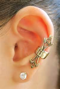 ear cuffs images bronze quiver and arrows ear cuff marty magic store