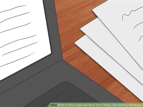 how to find legitimate work from home envelopes