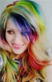 rainbow hair colors gorgeous rainbow hair hair colors ideas