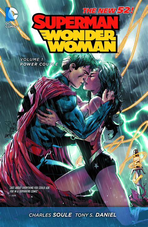 supermantp vol 1 dec140383 superman wonder woman tp vol 01 power couple previews world