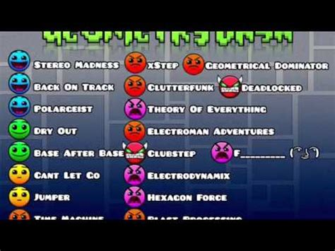 new level difficulties in geometry dash 2.1 youtube