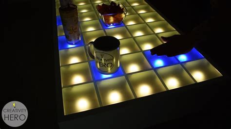 Interactive Led Coffee Table Interactive Led Coffee Table Circuit Rascalartsnyc