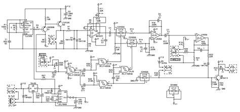 metal diagram metal detector schematic diagram circuit and schematics