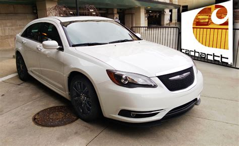 chrysler 200 s 2013 2013 chrysler 200 s special edition gets carhartt upgrades