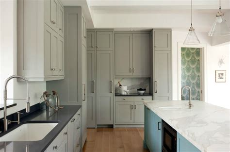 turquoise and gray kitchen contemporary kitchen liz