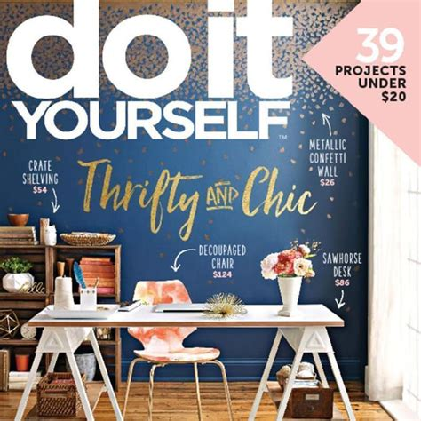 do it yourself magazine subscription for 8 50