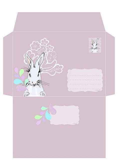 printable easter envelope 77 best images about printable envelope on pinterest