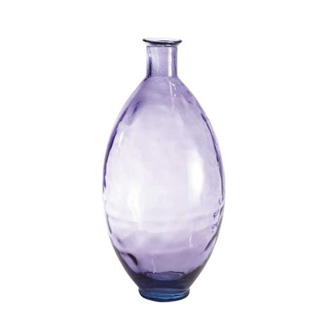 ajala purple glass vase maisons du monde