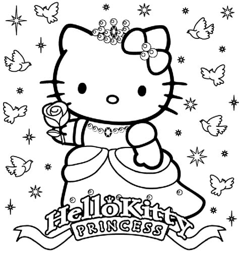 Hello Princess Coloring Page coloringpages coloringpages for to print