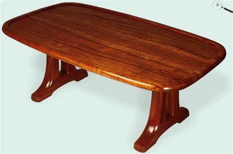 jeffrey dale designer tables koa open trestle coffee