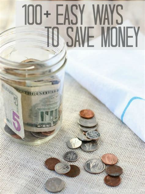 Easy Ways To Economize by 100 Easy Ways To Save Money