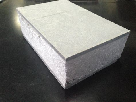 Sandwich Panel Eps China Acoustic Fiber Cement Eps Sandwich Wall Panel For