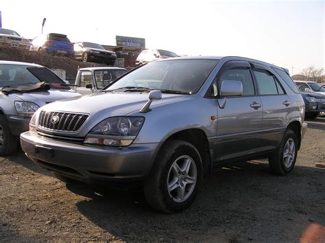 toyota lexus 2002 model 2002 toyota harrier pictures 2400cc gasoline ff