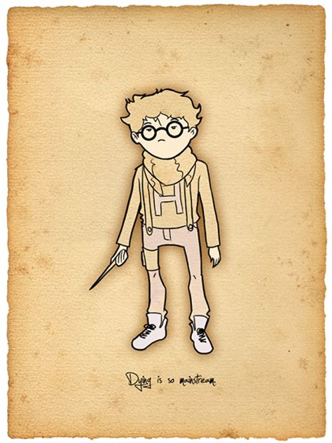 harry potter designs design inspiration harry potter illustrations bit rebels