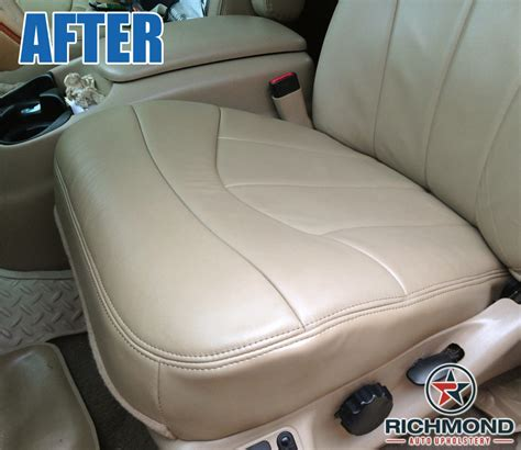 ford f150 replacement seat upholstery 2000 2003 ford f 150 lariat leather seat cover driver