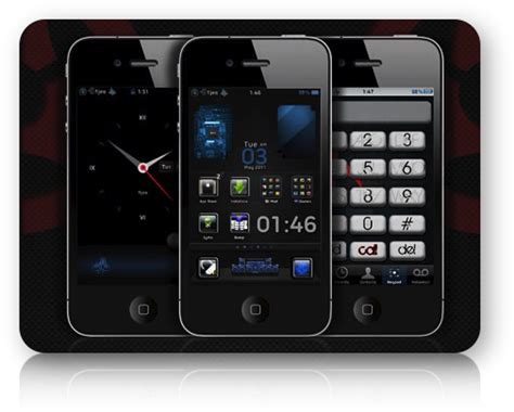 themes iphone hd rockvetica hd theme for iphone 4