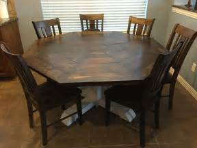 octagon dining room table ana white octagon dining room table diy projects