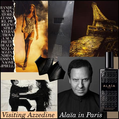Azzedine Alaia In The Marais by Visiting Azzedine Ala 239 A In S Closet