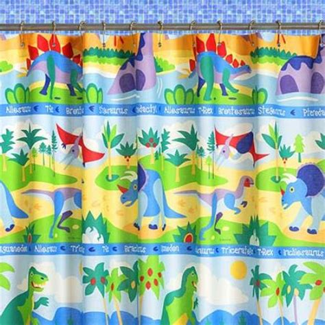 childrens dinosaur curtains kids shower curtains top 7 hometone