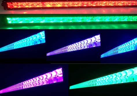 led light bar color changing 52 quot led color changing light bar millar light bars fx