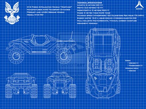 halo warthog blueprints m12 warthog fav schematics by masterchieffox on deviantart
