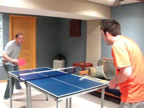 small ping pong table mini ping pong table at minipingpongtables com youtube