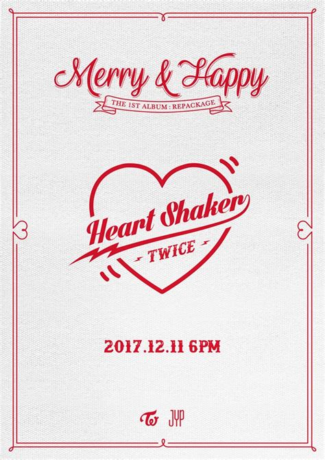 download mp3 twice heart shaker twice annoncent un repackage de leur premier album studio