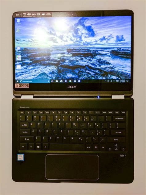 Laptop Acer Spin 7 acer spin 7 laptop review thin and powerful convertible