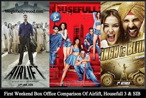 box office 2016 airlift housefull 3 vs airlift vs singh is bling vs rowdy rathore