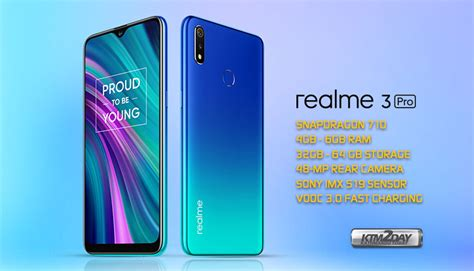 realme  pro price  nepal specification  features ktmdaycom