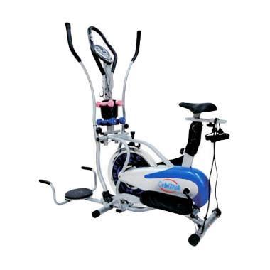 Stepper Multi Fungsi Mini Stepper Alat Olahraga jual bb fitness sepeda statis orbitrek 5 fungsi alat