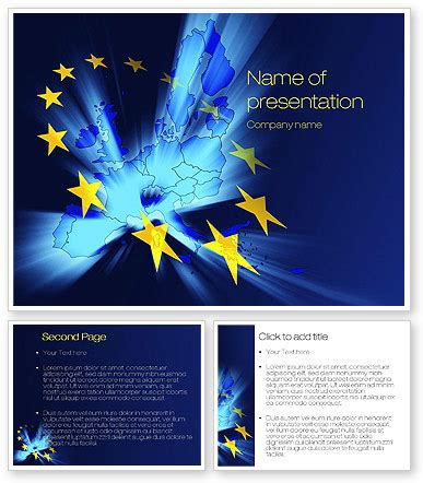 united europe powerpoint template backgrounds 10459