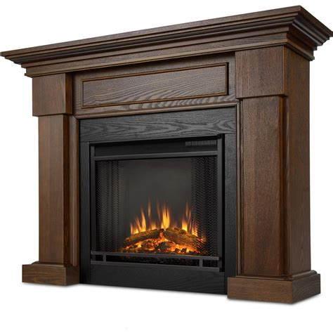 48 Inch Electric Fireplace by Real Hillcrest 48 Inch Electric Fireplace With