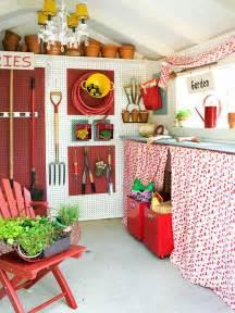 13 genius shed interior storage designs easy shed