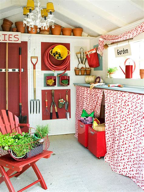 Shed Interiors And Storage Ideas by 13 Genius Shed Interior Storage Designs Easy Shed