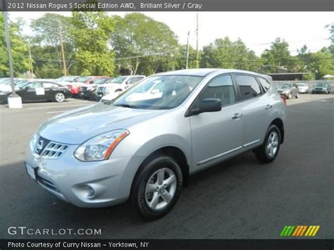 silver nissan rogue 2012 brilliant silver 2012 nissan rogue s special edition awd