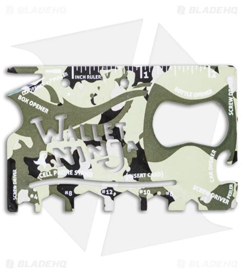 Wallet 18 In 1 Tools Card wallet 18 in 1 credit card multi tool camo blade hq