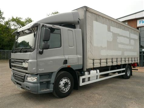 curtain side truck used daf cf65 220 curtain side trucks year 2011 price