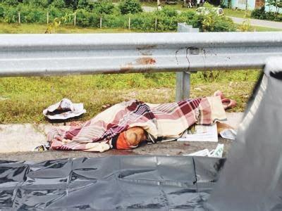 Jam Besi O T S Hitam kemalangan jalan raya 2013 06 30