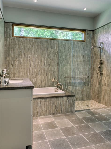 the high window would be an option for the interior bathroom since it faces a window on the