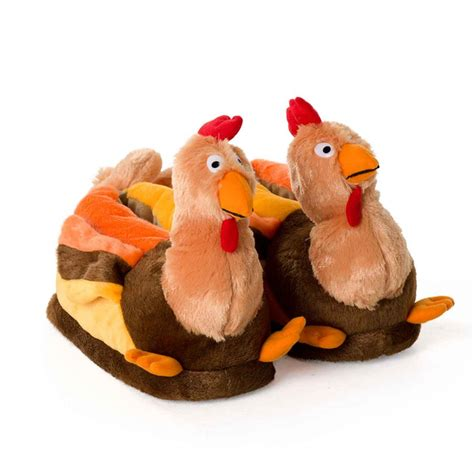 turkey slippers novelty turkey for adults and children
